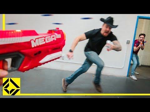 Nerf Office War | $9300 Wrendering PC!