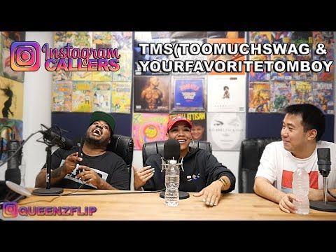 QUEENZFLIP - INSTAGRAM LIVE CALLERS #15 - TMS & GEORGIE - TMS LETS A GIRL DO WHAT?  WILD EPISODE