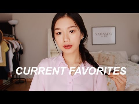 MY CURRENT FAVORITES | Skincare, Hair, Podcasts