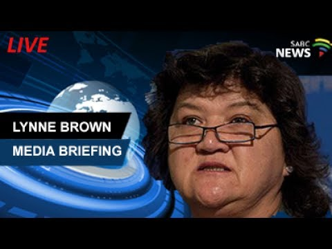 Lynne Brown briefs the media following Eskom AGM