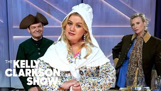 Jo Koy, Jane Lynch And Kelly Cook An 18th Century Recipe: Pigeons In A Hole