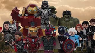 Lego Avengers Age of Ultron Minifigures - Showcase