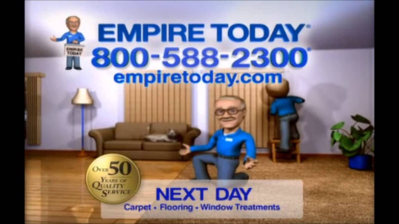 Empire Carpet Voice Over Spot - YouTube
