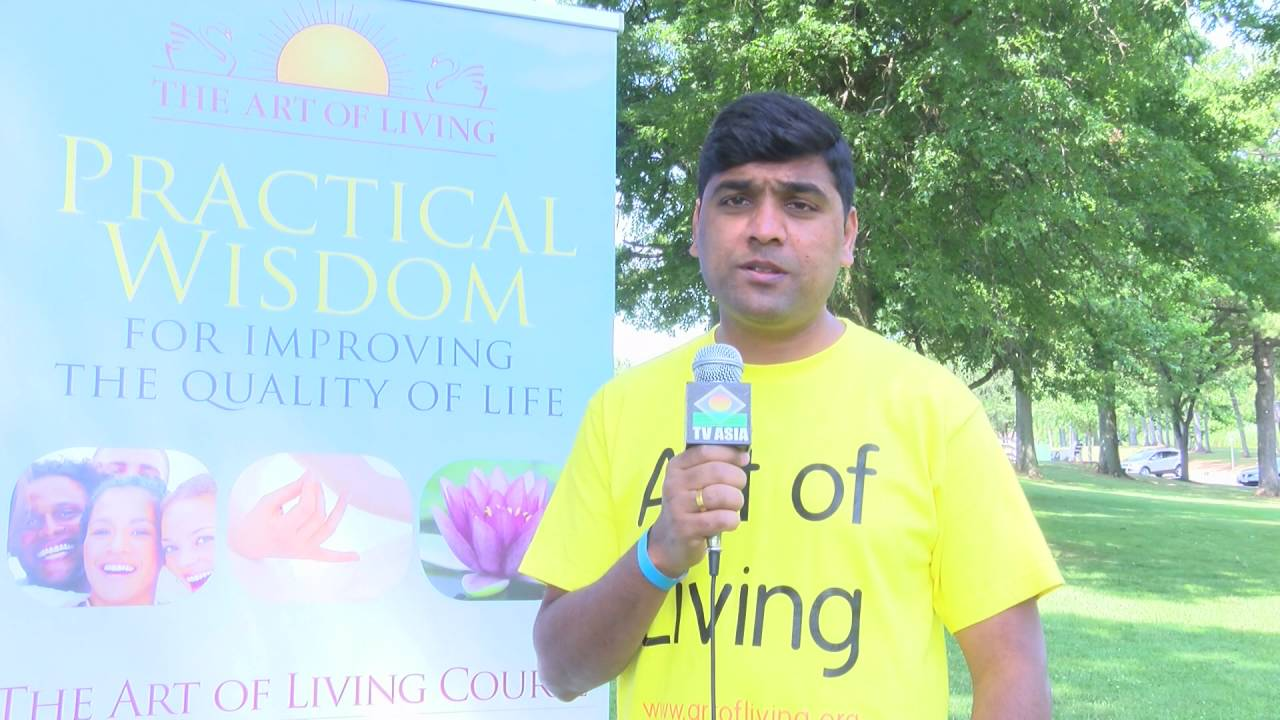 International Yoga Day Celebration Art Of Living Foundation U0026 OVBI NJ