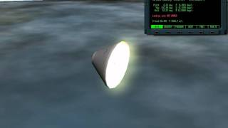 Orion capsule re-entry (X-Space)