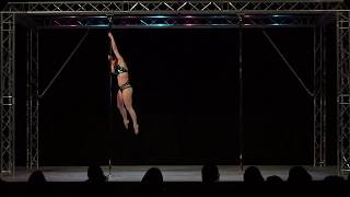 Aimee Spinks - Solent Pole & Hoop Competition - Advanced Pole Winner