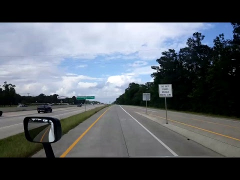 Bigrigtravels Live! - Houston Downtown to New Caney, Texas - April 19, 2017