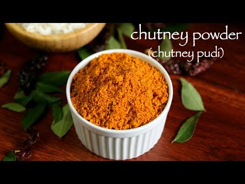 How To Make Gunpowder Recipe - Chutney Pudi Recipe  - Chutney Powder Recipe