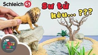Khám phá thế giới hoang dã Safari với bộ đồ chơi Schleich từ Đức ToyStation 281