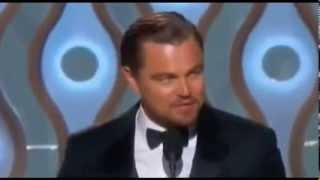 Leonardo DiCaprio Wins Best Actor At 2014 Golden Globe Awards