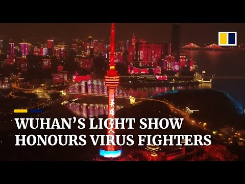 Coronavirus: Wuhan Honours Workers With Light Show As Lockdown Lifted
