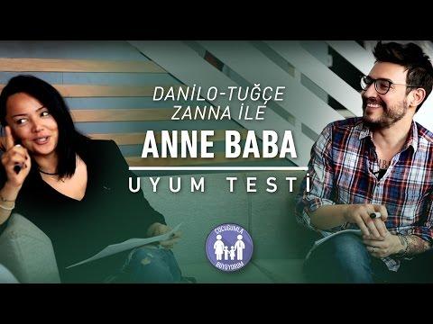 Danilo ve Eşi Tuğçe Zanna İle Anne Baba Uyum Testi