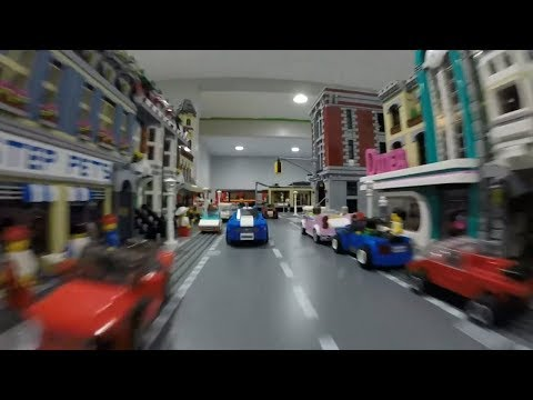 LEGO CAR CRASHES!!! thumbnail