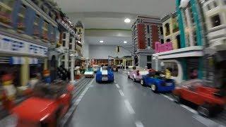 LEGO CAR CRASHES!!!