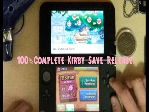 100% Team Kirby Clash Deluxe Save Release!!