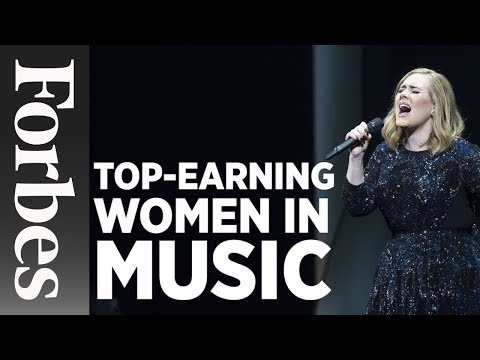 Top-Earning Women In Music   Forbes