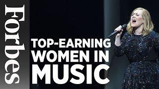 Top-Earning Women In Music