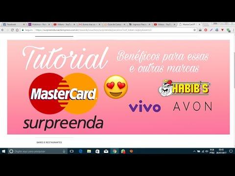 Saiba como utilizar o Mastercard Surpreenda | Troque por Voucher da Avon,  Habibs, Vivo
