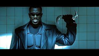 Блэйд - первая встреча с вампирами(укороченная версия). Уэсли Снайпс. HD 1080