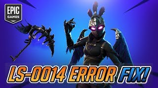 Epic Games Launcher Error Code: LS-0014 FIX - (Season 11) Chapter 2