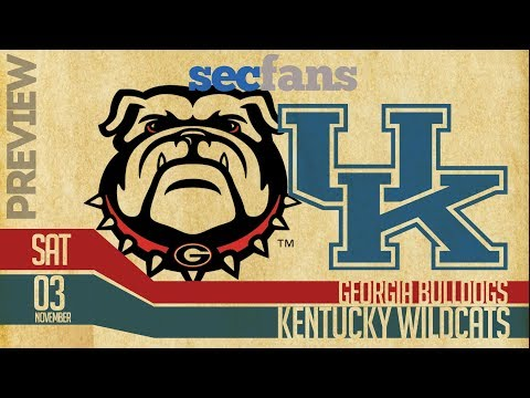 Georgia vs Kentucky - Preview & Predictions (Computer Model) 2018 College Football