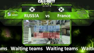 Call of Duty: MW 3 RUSSiA vs FRANCE