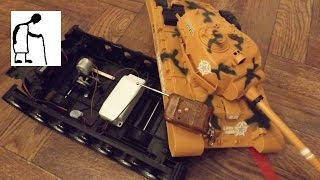 Cheap toy tank projects #1