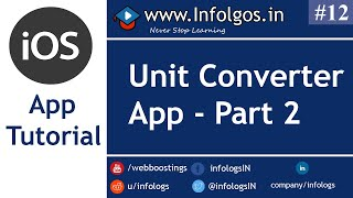 Demo App for Converting Units Part 2 - Tutorial 12