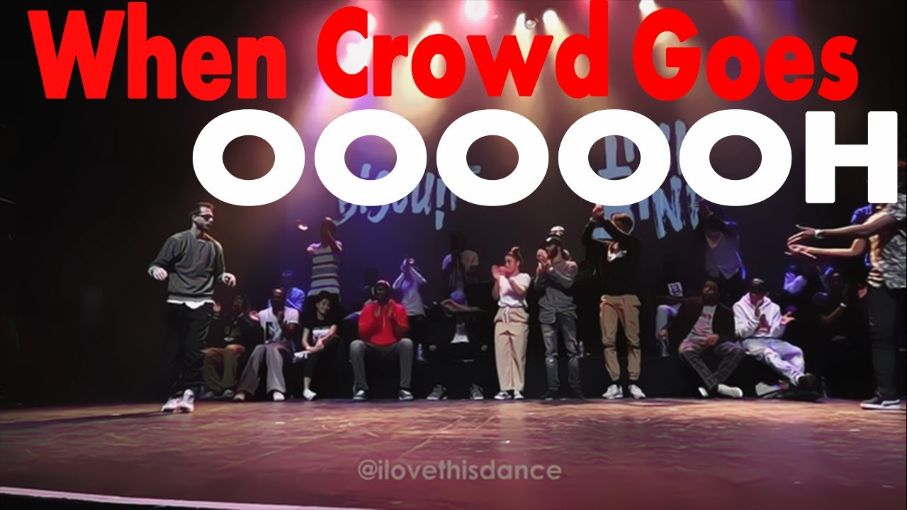 When Crowd Goes OOOOOH | I Love This Dance Edition | Part 2
