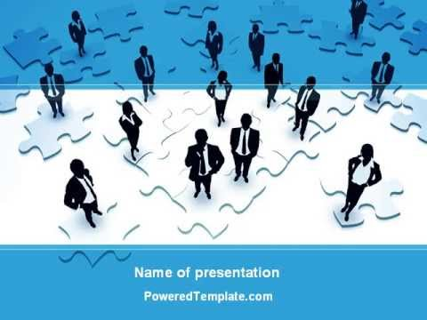 Team Building Process Powerpoint Template By Poweredtemplate