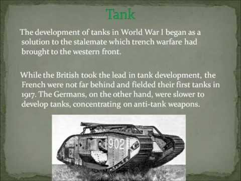 Inventions of World War I