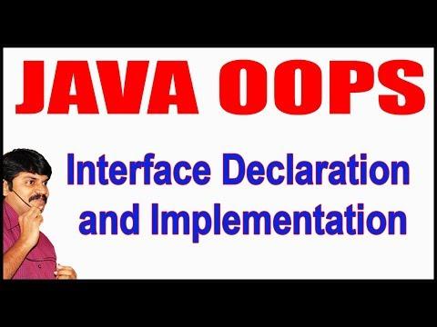 java-tutorials-||-java-oops-||-interface-declaration-and-implementation