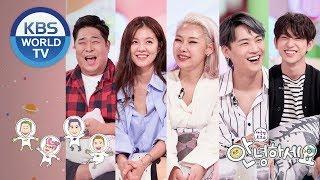 Guests : Mun Seyun, Kim Sungeun, Cheetah, GOT7