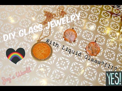 Diy Glass Boho Jewelry !  Unique and Cheap Idea!