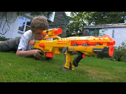 THE NERF WAR – 1 Million Subscribers!