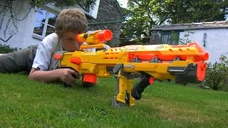 THE NERF WAR - 1 Million Subscribers!