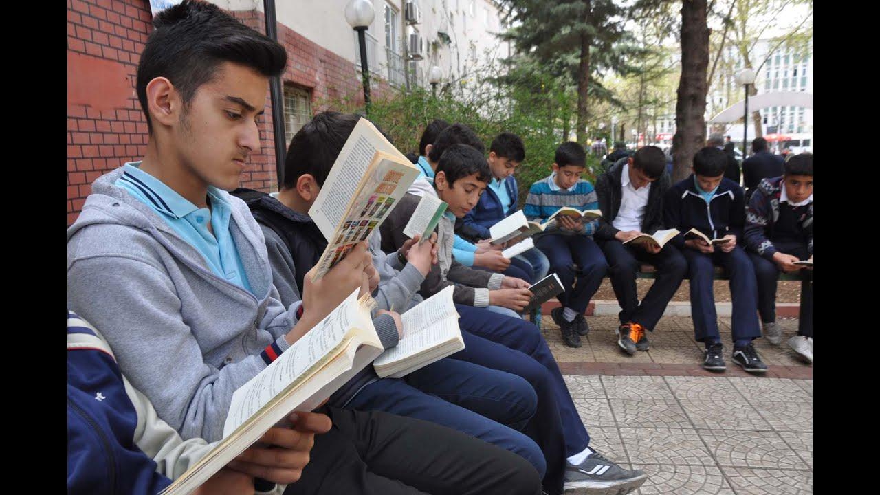 Adıyaman'da Kitap Okuma Etkinliği