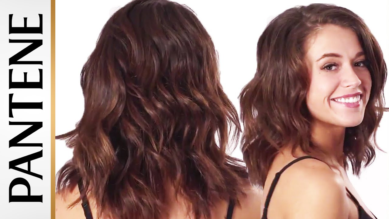 How To Get Wavy Hair With And Without Heat Youtube