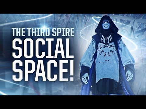 """Destiny 2: TRIALS OF THE NINE LOOT! NEW """"The Third Spire"""" Social Space!"""