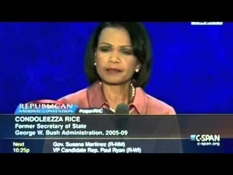 Condoleezza Rice full speech at the RNC