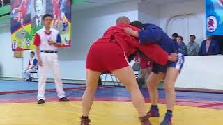 Чемпионат Казахстана по борьбе самбо состоялся в Костанае