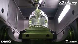 5Axis High Speed Cutting DEMO : DAISHIN SEIKI CORPORATION