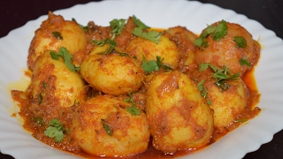 Dum Aloo Recipe - Kashmiri Dum Aloo - Potato Curry Recipe