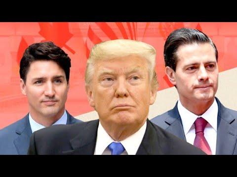 U.S., Canada and Mexico begin NAFTA negotiations