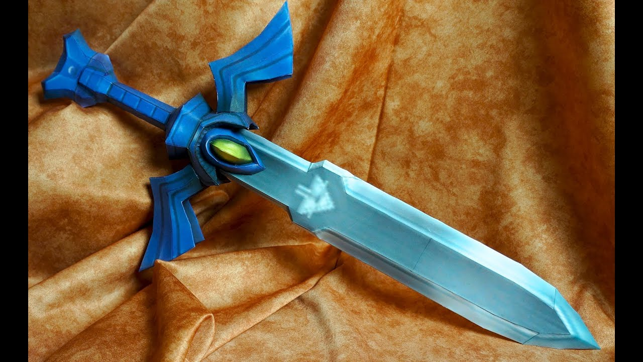 Make Your Own Master Sword  Wind Waker