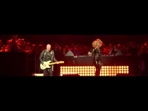 Sylver Live at the Antwerp Sportpaleis on March 26th 2016.