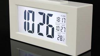Часы будильник c Aliexpress - обзор