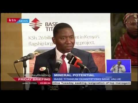 The Kwale Mineral Sands Project Shows Great Potential