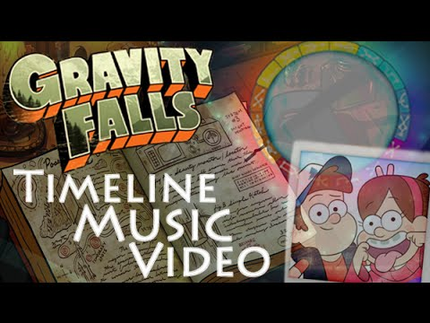 Gravity Falls Timeline Music video Full series