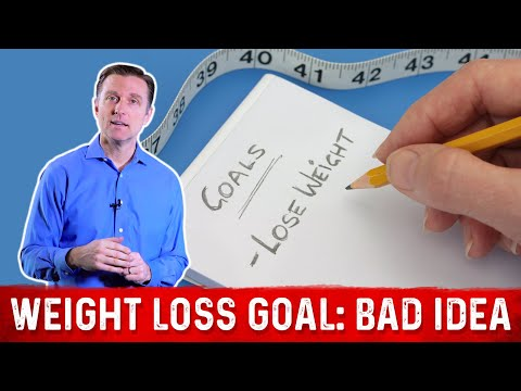 Why Having a Weight Loss Goal is a Bad Idea
